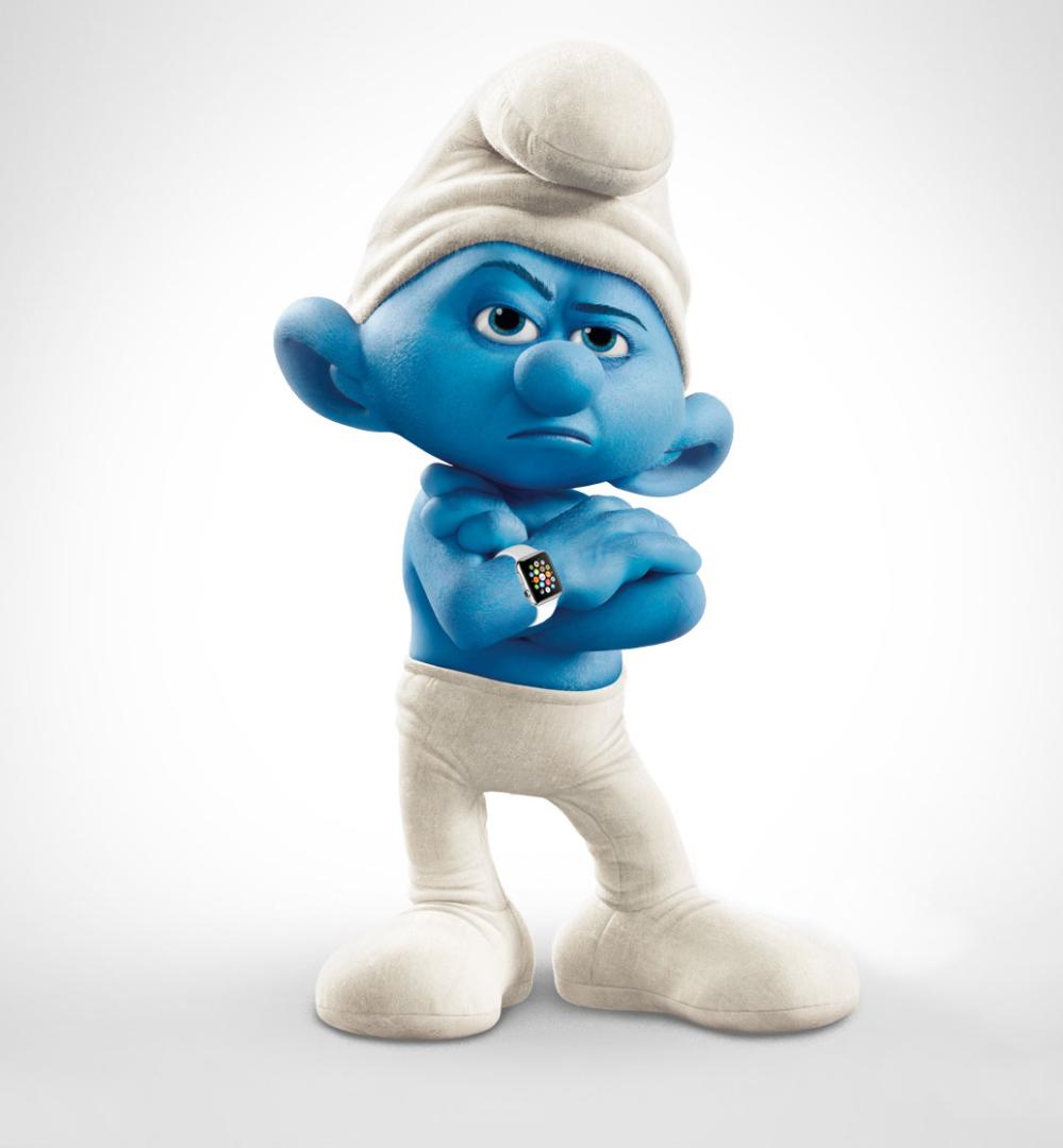 The_Smurfs_Apple Watch